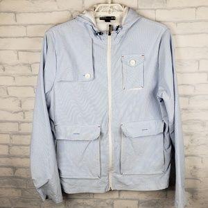 Under Armour seersucker windbreaker jacket      K2